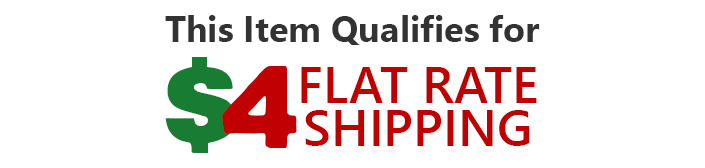 Flat Rate Shipping Details
