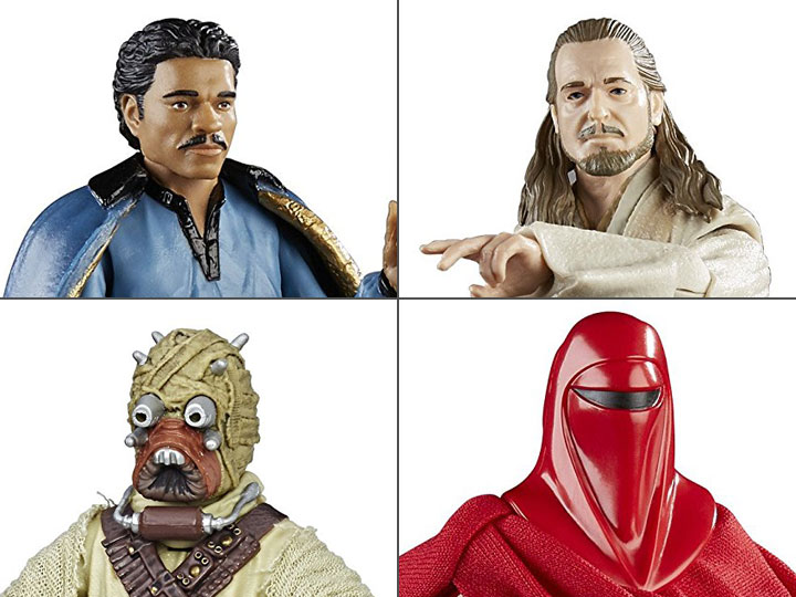 Star Wars Black Figures & More