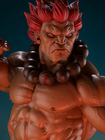 Street Fighter 1/4 Scale Akuma Statue & More