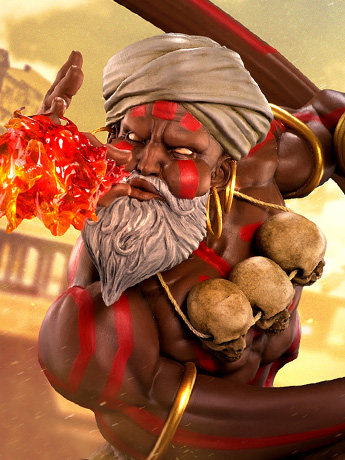 Street Fighter Dhalsim 1/4 Scale Statue & More