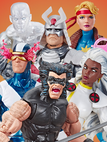 The Uncanny X-Men Marvel Legends Retro Collection Figures