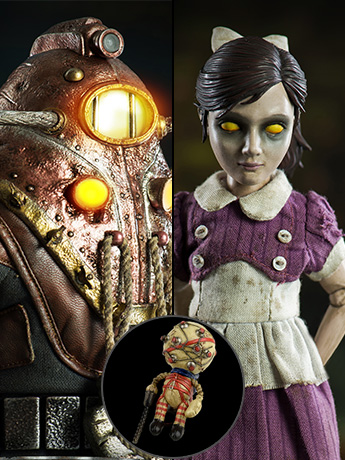 Bioshock 2 Subject Delta & Little Sister 1/6