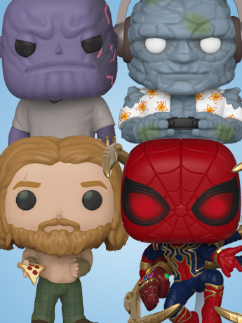 Funko Pop, 5 Star, Rock Candy, Minis, Plush