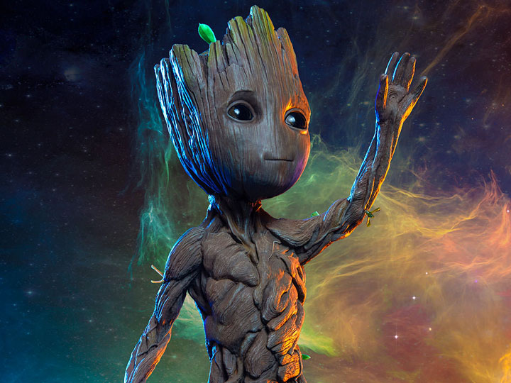 Groot Maquette - New Sideshow
