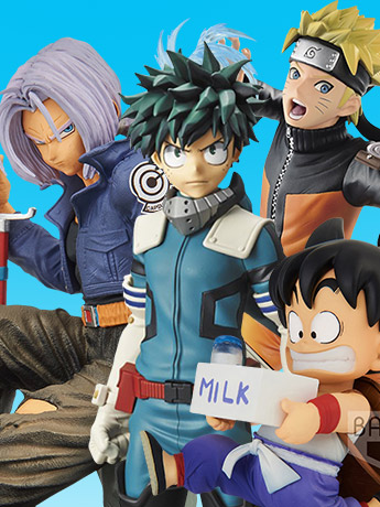 Banpresto Anime Figures