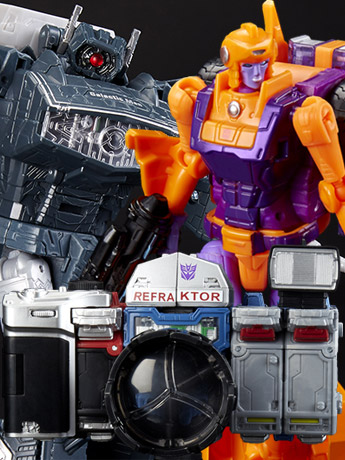 SDCC Reveals: Transformers Generation Selects & WFC