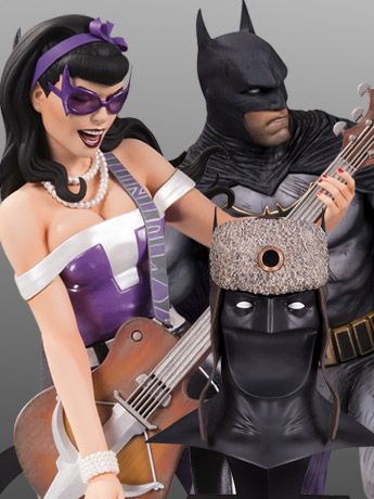 DC Bombshells Huntress, Batman: Lost, Red Son Cowl