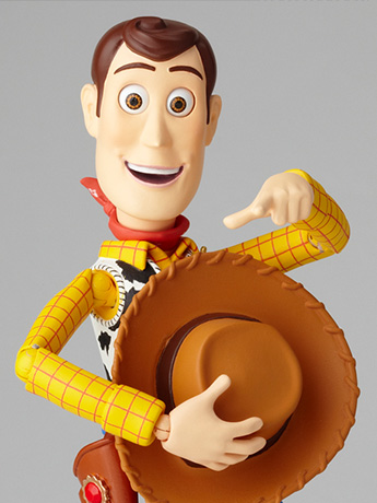 Toy Story Legacy of Revoltech Woody