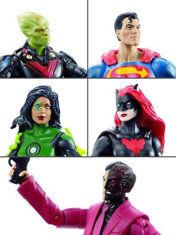 "DC Comics 6"" Multiverse Collect & Connect - New Figures!"