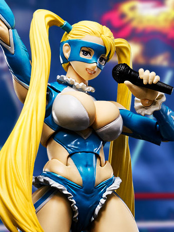 Street Fighter Figuarts - Rainbow Mika & More!
