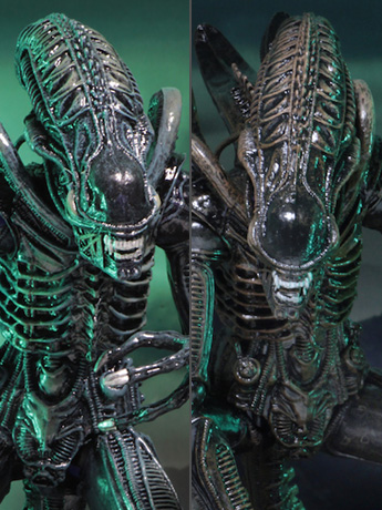 NECA Ultimate Aliens Warrior - Blue & Brown