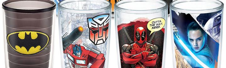 Tervis Tumblers - DC, Transformers, Marvel, Star Wars, Television & More