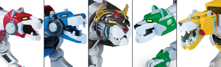 Die-Cast Voltron In Stock Now - $99.99