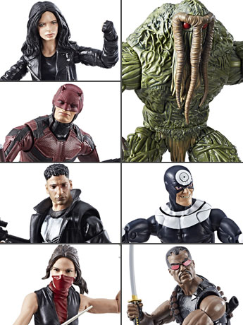 Hasbro Marvel Knights Legends with Man-Thing BAF