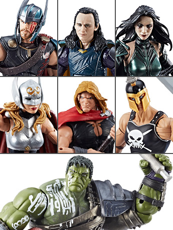Thor Marvel Legends BAF Hulk