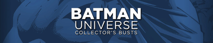 Batman Universe Collector's Busts Toys, Action Figures, Statues, Collectibles, and More!