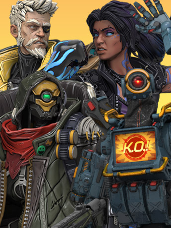 Figures of Fandom: Borderlands 3, Apex Legends