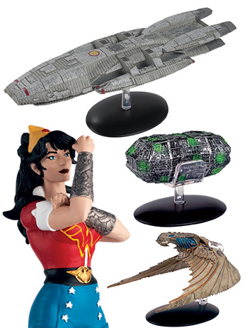 New Eaglemoss: Star Trek, BSG, DC, Alien, Marvel & More