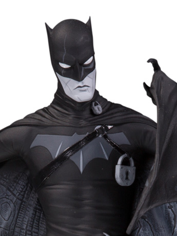 Batman Black and White Statues