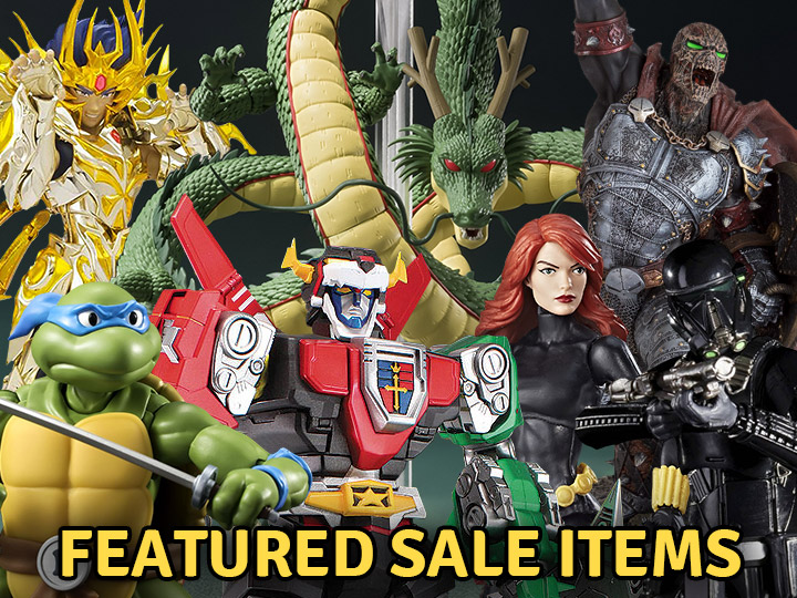 Featured Sale Items!  TMNT, Transformers, Star Wars, Dragon Ball, Marvel & More!