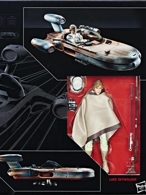 Star Wars Black Deluxe - Luke & Landspeeder
