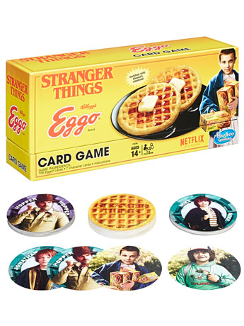New Games! Stranger Things Eggo Card Game & More