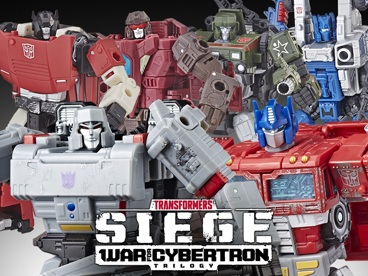 Transformers War for Cybertron: Siege