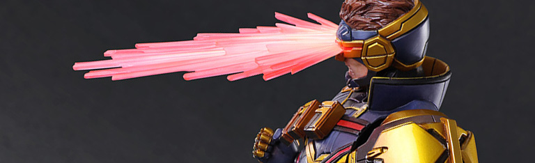 Marvel Play Arts Kai Cyclops & More