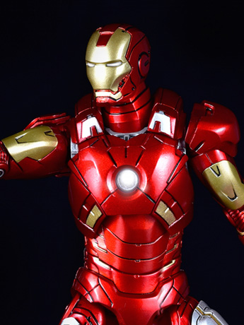 Iron Man 3 Die-Cast Iron Man Mark VII 1/12 Scale Figure