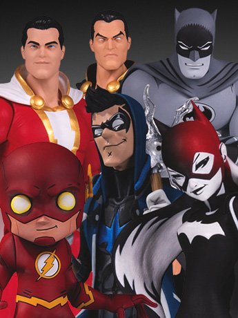 New DC Collectibles - Essentials, Black & White, Artist Alley