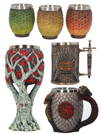 Game of Thrones Goblets, Tankards & More!