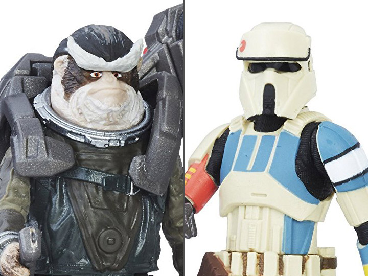 Rogue One Shoretrooper Captain & Bistan Two Pack & Much More