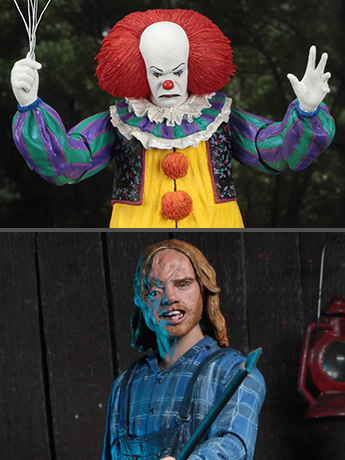 New NECA - Friday the 13th, It, Pan's Labyrinth, American Gods, Elf, Re-Animator, Freddy, The Fog
