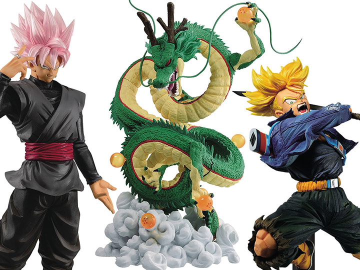 New Banpresto: DBZ & More