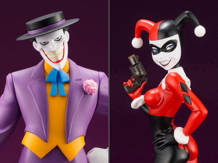Batman: The Animated Series ArtFX+ Joker & Harley Quinn