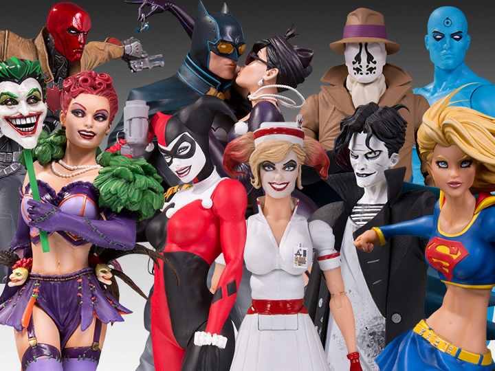 New DC Collectibles - 25 New Pre-Orders! - Designer Series, Bombshells, Black&White, Essentials