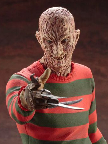 A Nightmare on Elm Street 4 ArtFX Freddy Krueger Statue - New Kotobukiya