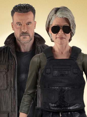 Terminator: Dark Fate T-800 & Sarah Connor