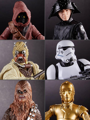 Star Wars 40th Anniversary Black Series Wave 2