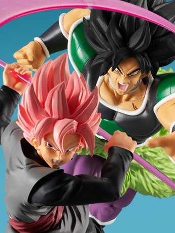 Dragon Ball Super Styling Super Saiyan Rose Goku Black & Broly (Rage Mode)