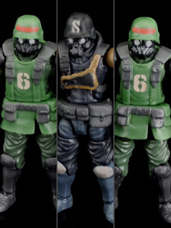 New Acid Rain 1/28 Scale Figures & Vehicles