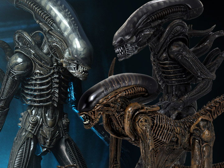 NECA Aliens: Ultimate Big Chap, Dog Alien, 1/4 Scale Big Chap
