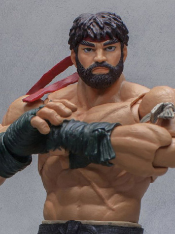 Street Fighter V Hot Ryu 1/12 Scale Figure