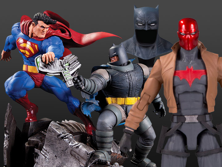 DC Collectibles: Essentials Red Hood, TDKR Batman vs. Superman