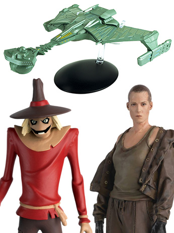New Eaglemoss:  Star Trek, DC, Marvel, Alien