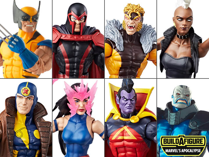 X-Men Marvel Legends Wave 3 (Apocalypse BAF)
