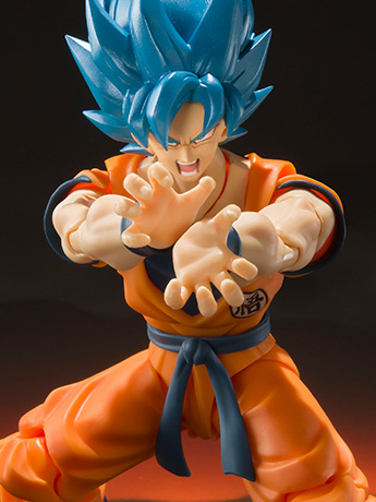 Dragon Ball Super S.H.Figuarts SSGSS Goku