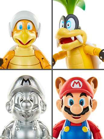 "World of Nintendo 4"" Figure Series 12 & More"