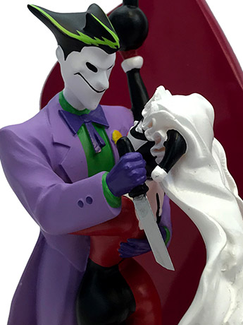 TBA Joker & Harley Wedding Cake Topper