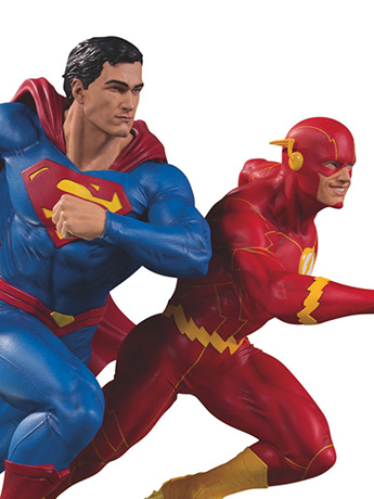 New DC Collectibles - Superman & Flash Racing Statue and Much More